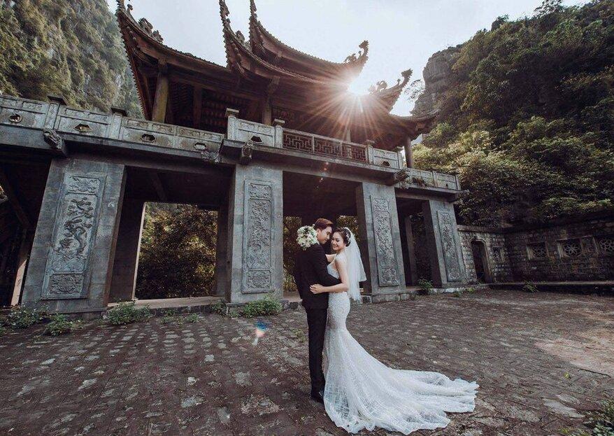 Asiatica Travel vi accompagnerà nelle terre d'oriente per un viaggio di nozze da favola!