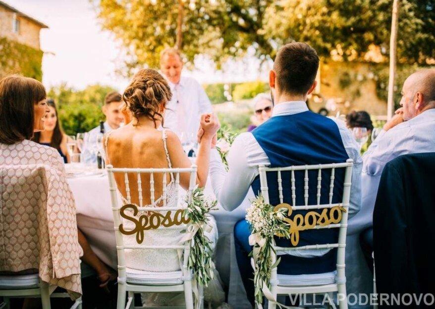 Racconta la fiaba del tuo matrimonio in una splendida location...