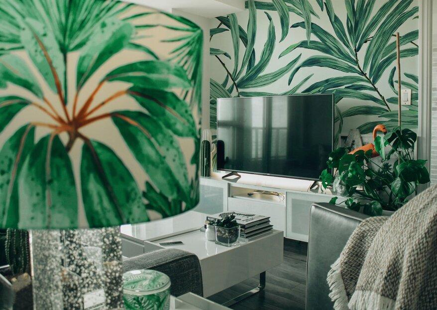 Idee per la casa: come arredare il vostro 'nido d'amore' in maniera originale ma economica