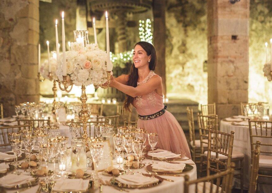 """LV Wedding Luxury & Special Events è specializzata in matrimoni """"sartoriali"""", progettati e realizzati ascoltando i desideri delle coppie"""