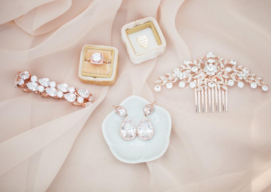 Come scegliere i gioielli per il tuo matrimonio in 5 passi