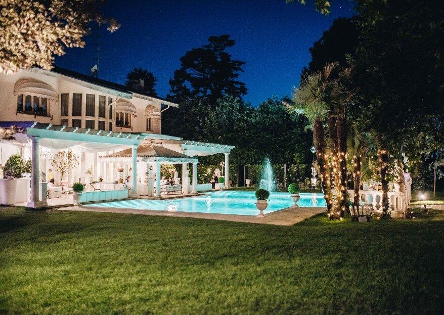Villa Patrizia di Magnago, una location raffinata ed esclusiva, per un matrimonio romantico alle porte di Milano