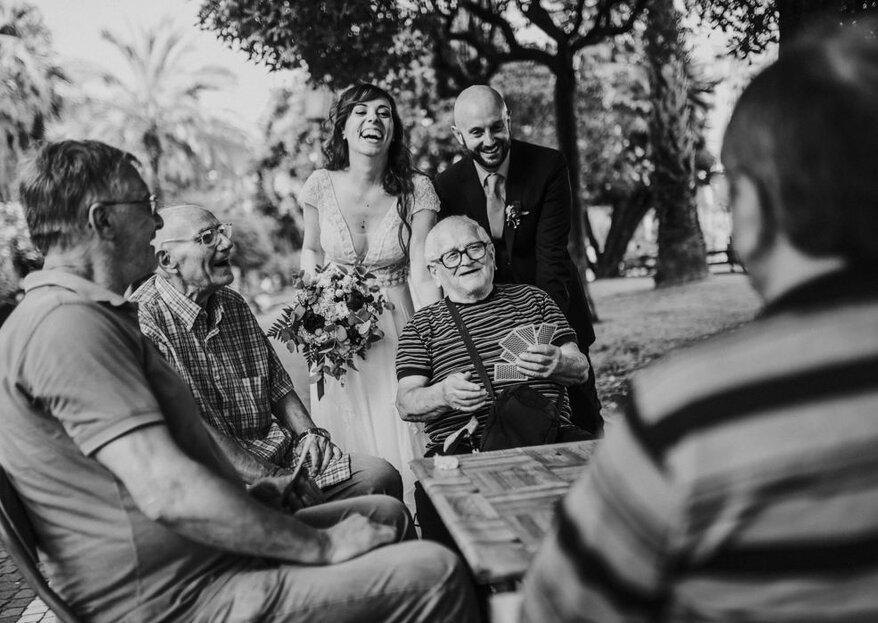 Tanti professionisti per ogni momento delle nozze, solo così ogni dettaglio sarà esattamente come l'avete immaginato!