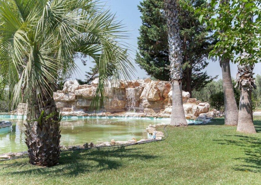 Villa Demetra, la location ideale nelle campagne pugliesi, per un matrimonio da sogno!