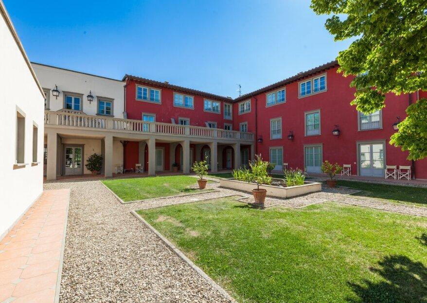 Relais Villa il Palagio vi apre le porte su un paesaggio toscano da sogno per le vostre nozze!