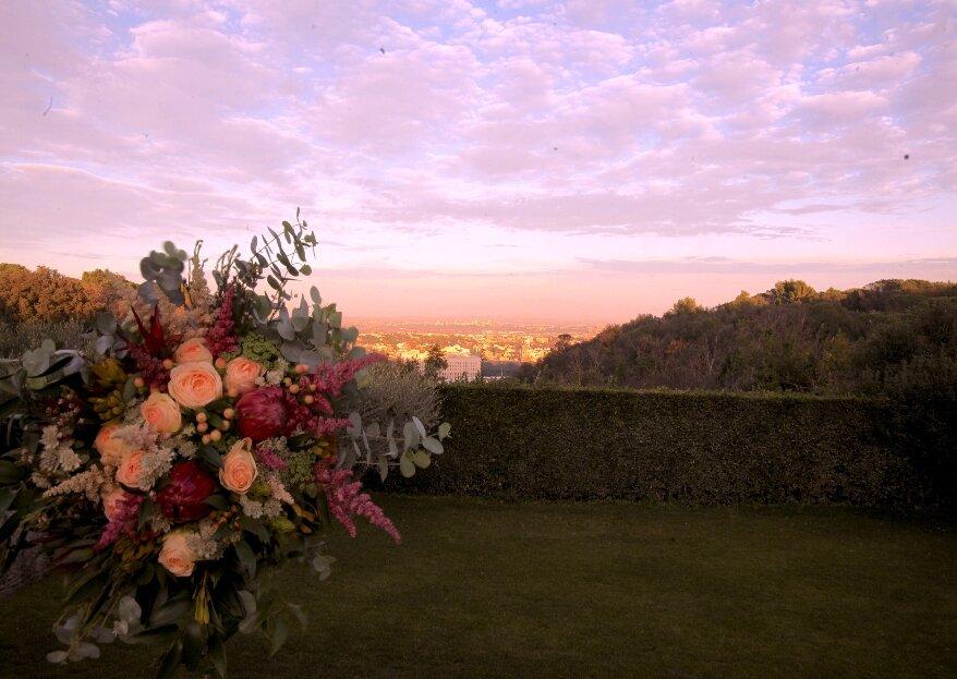 Villa Parco della Vittoria: una terrazza su Roma per il vostro giorno Speciale!