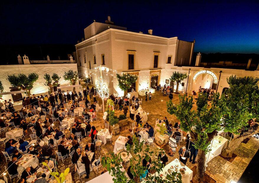 Masseria Montalbano, sposarsi nell'autenticità pugliese più elegante...