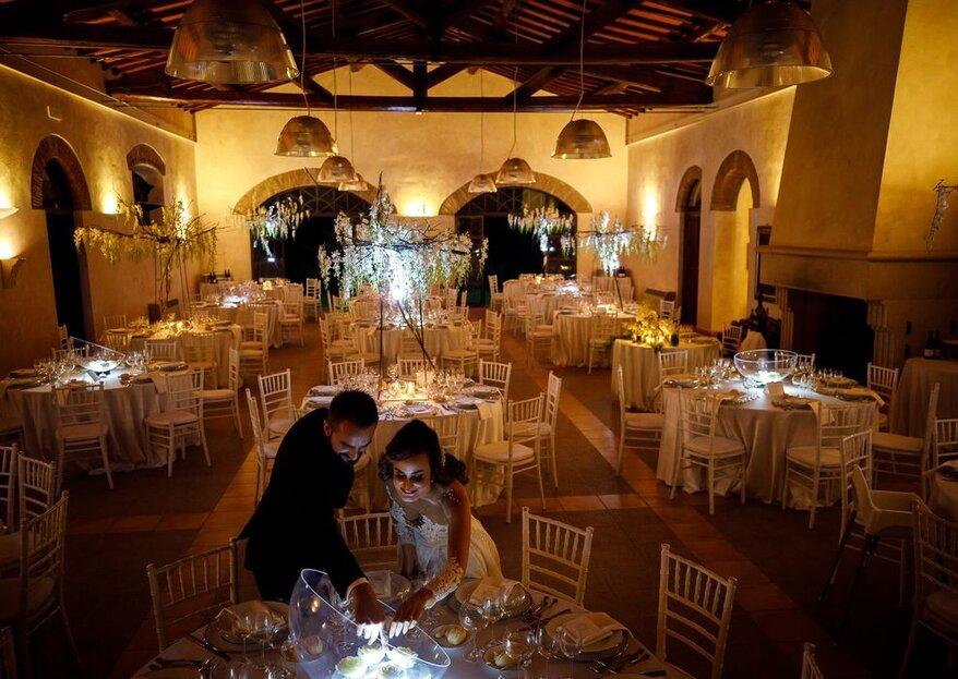 Mencarelli Group Roma Catering & Banqueting: il segreto di un matrimonio indimenticabile è a tavola...