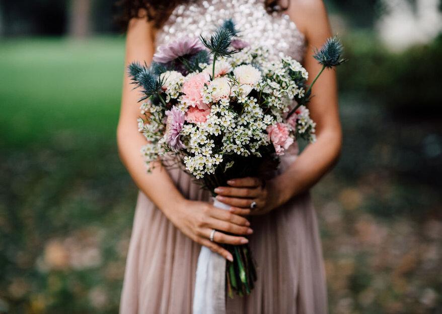 Scegli il tuo bouquet da sposa in base alla simbologia dei colori...