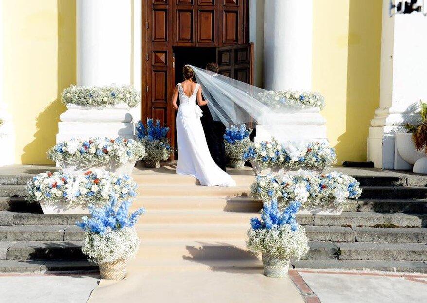 Blu navy e grigio perla, le tonalità perfette per un matrimonio di classe