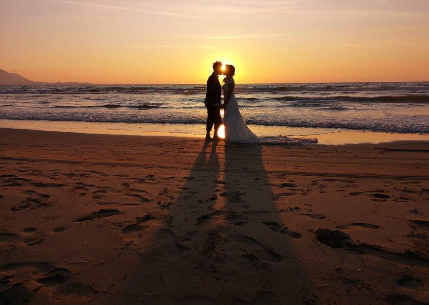 Papel Beach Club, una location davvero unica, al confine tra mare e lago per le vostre nozze!