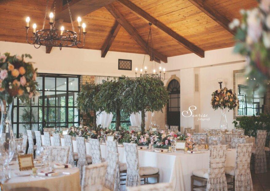Lasciati trasportare dalla bellezza delle location proposte e celebra il tuo matrimonio in una di queste...