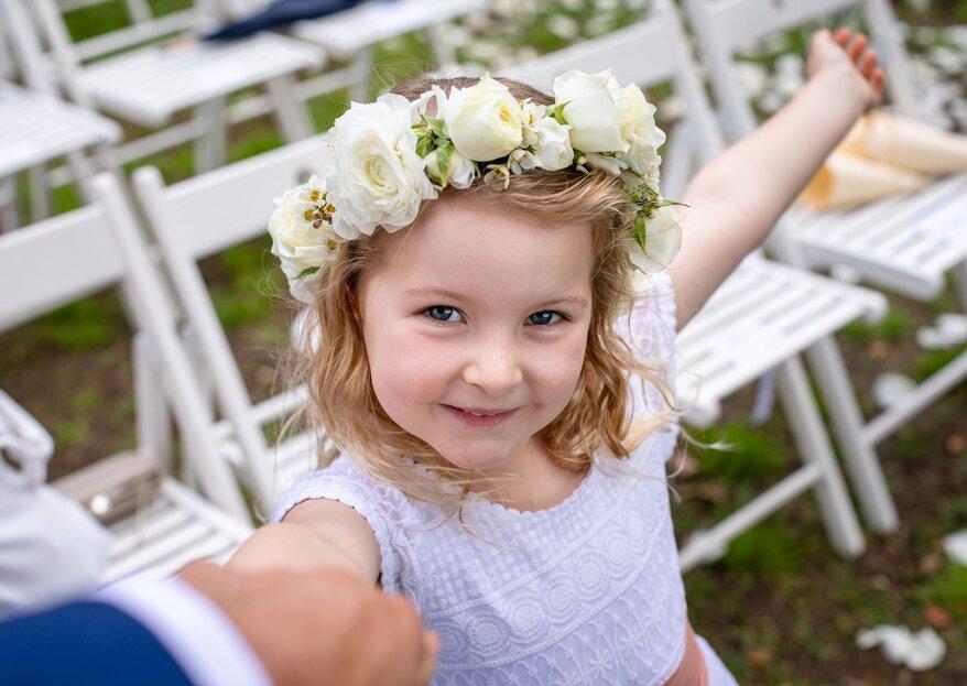 Come vestire i bambini ad un matrimonio? Ecco i consigli utili per scegliere l'abito perfetto!