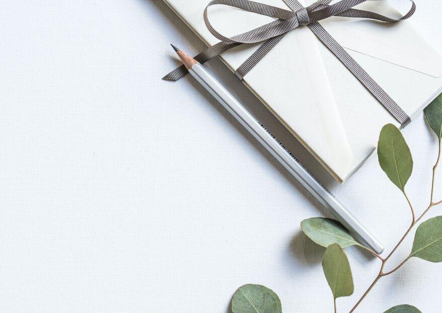 Cosa scrivere sulla busta regalo del matrimonio