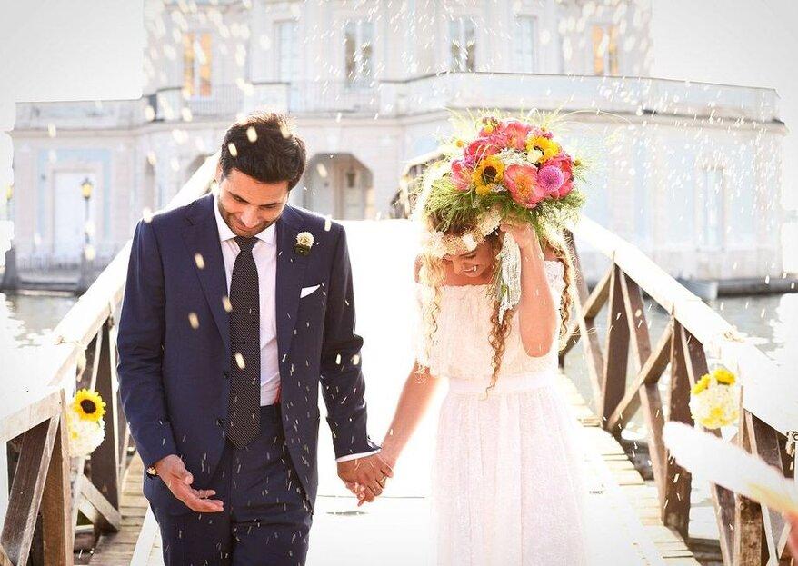 Un matrimonio è unico solo se ha stile: ecco i fornitori giusti!