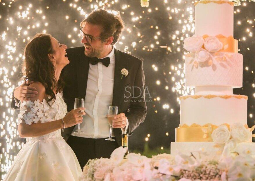 SDA di Sara D'Angelo, lusso e scenografia del wedding planning...