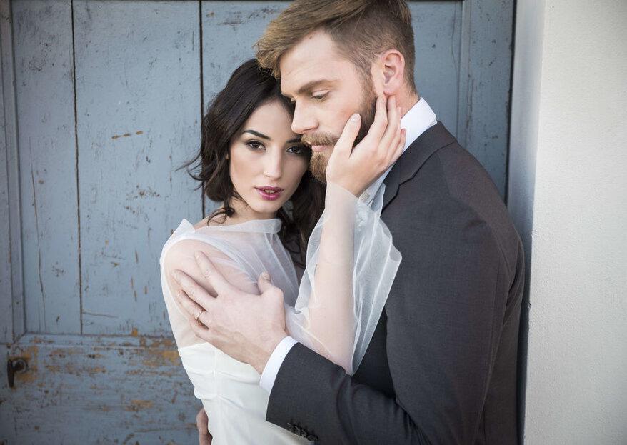 La lente di un obiettivo può fermare il tempo nelle fotografie del tuo matrimonio...