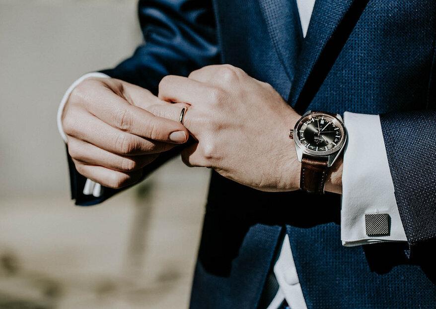 Il look per lo sposo: 7 consigli per essere impeccabile