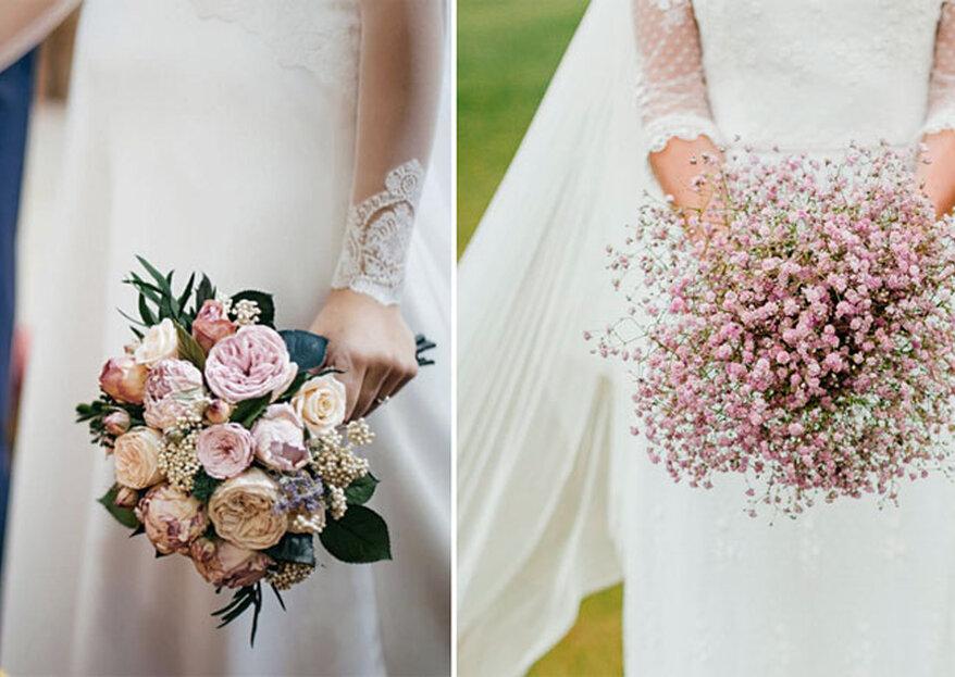 6 mazzi di fiori talmente belli da far impazzire ogni invitata!