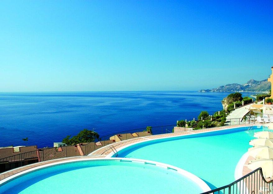 """Hotel Capo dei Greci: un matrimonio """"no stress"""" a Taormina!"""