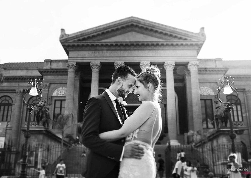 Consigli utili per essere fotogenici durante il servizio fotografico di nozze...