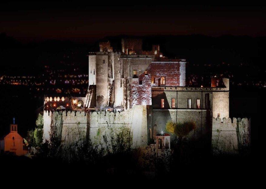 Il Castello di Limatola vi unirà in matrimonio in un'atmosfera suggestiva e d'altri tempi!