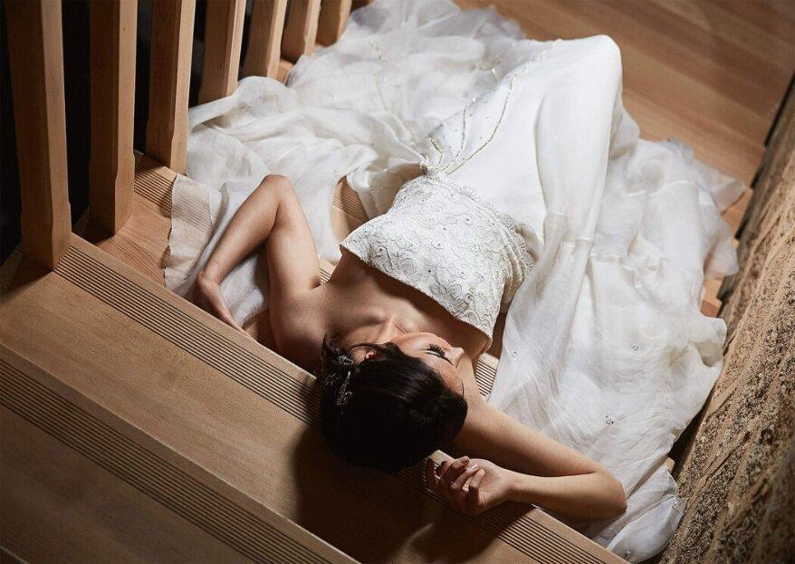 Modart di Flavia Pinello veste il vostro sogno con tulle, organza e tanta creatività!