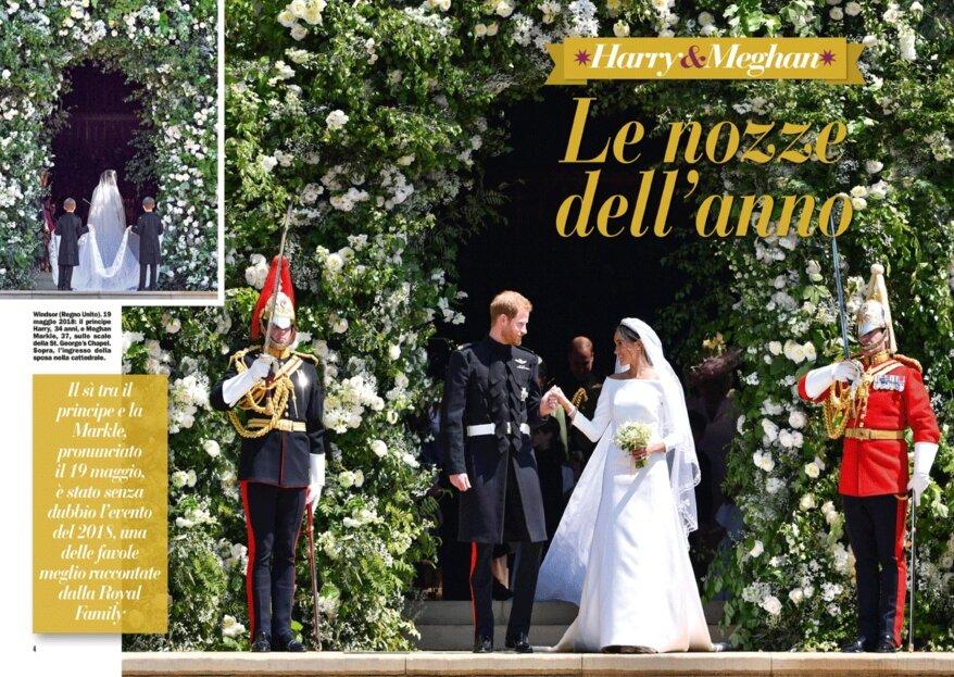 I matrimoni Vip piu' belli del 2018 secondo la rivista Chi