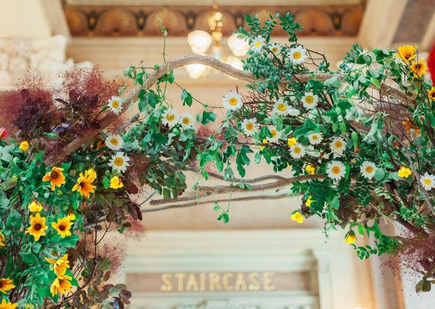 I 10 fiori più belli perfetti per decorare il tuo matrimonio