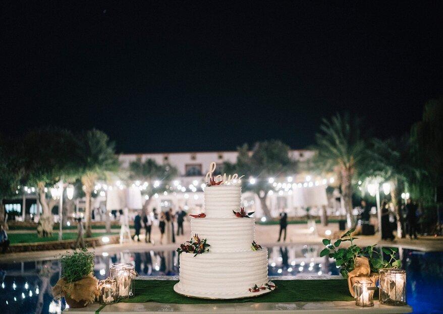 La tradizione di uno sposalizio mediterraneo tra le corti e gli ulivi della Masseria Sanrà