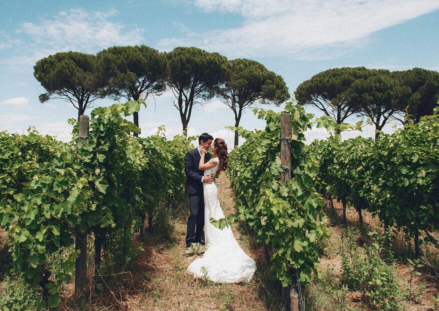 Una foto romantica per ogni fase del vostro giorno speciale, cosa ne pensate di queste proposte?