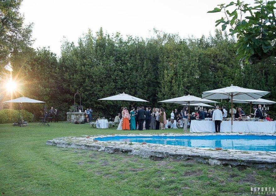 Roma + Matrimonio all'aperto? Il risultato è Villa Blumenstihl!