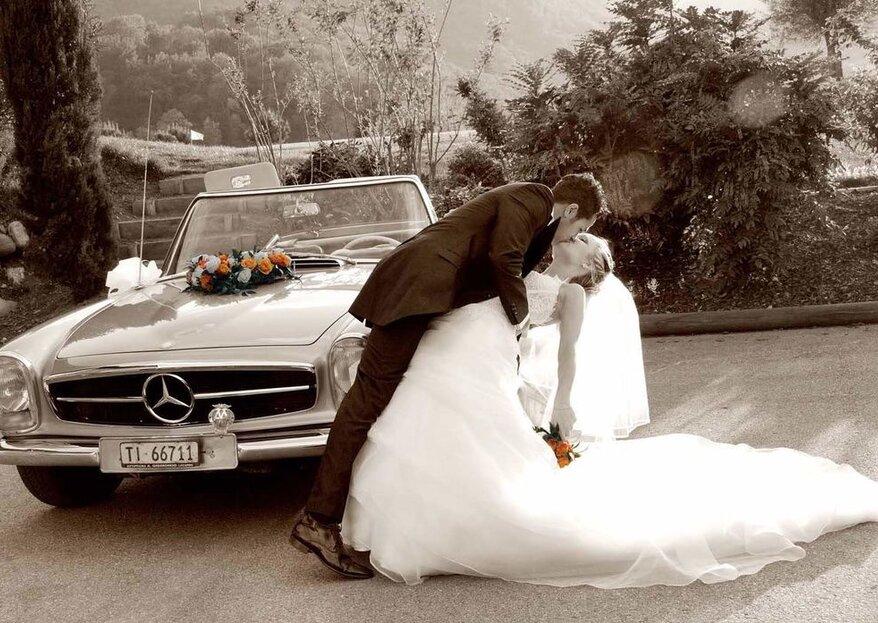 Una mini guida per decorare la macchina degli sposi senza cadere nel trash